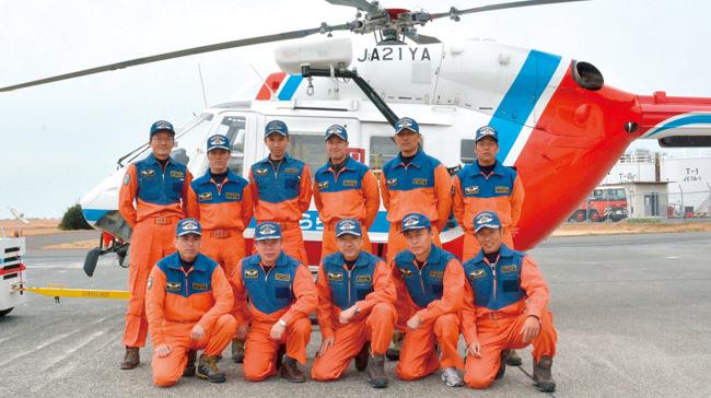 レポート#134 山口県消防防災航空隊