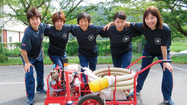 鳥取県鳥取市 鳥取県鳥取市女性消防隊