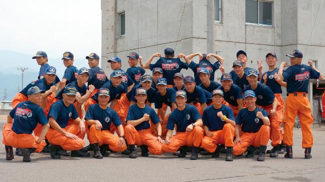 長野県長野市 長野県消防学校 救助科第26期