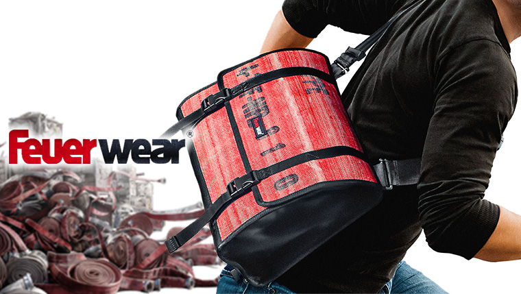 リサイクルの先を行く!「消防ホース」のアップサイクルブランド『Feuerwear』