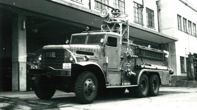 消防の歴史を築いた懐かしの消防車両「銀龍号」