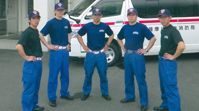 鹿児島県薩摩川内市 薩摩川内市消防局 中央消防署 下甑分駐所