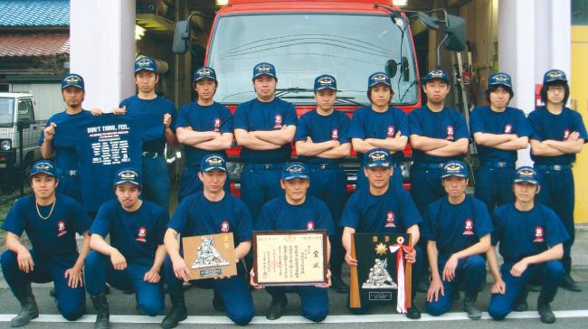 東京都西多摩郡 瑞穂町消防団 第2分団