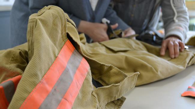 防火服アップサイクルブランド「Fire fighter's seriese」製作現場レポートin広島