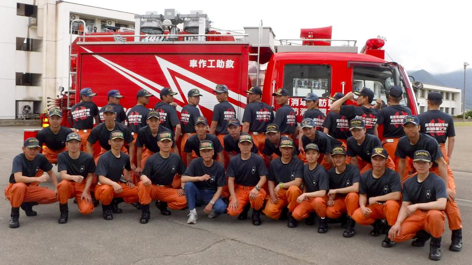 長野県長野市 長野県消防学校救助科第27期
