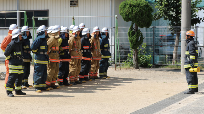 FIRE REPORT #138 我ら生涯消防人 第7巡「愛媛県消防学校」