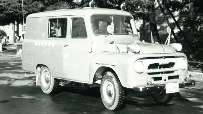 消防の歴史を築いた懐かしの消防車両「特別救援車」