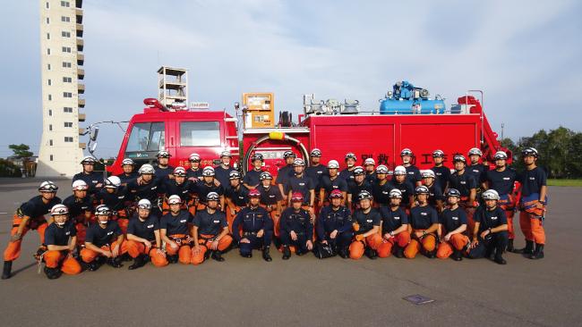 北海道江別市 北海道消防学校救助科第45期