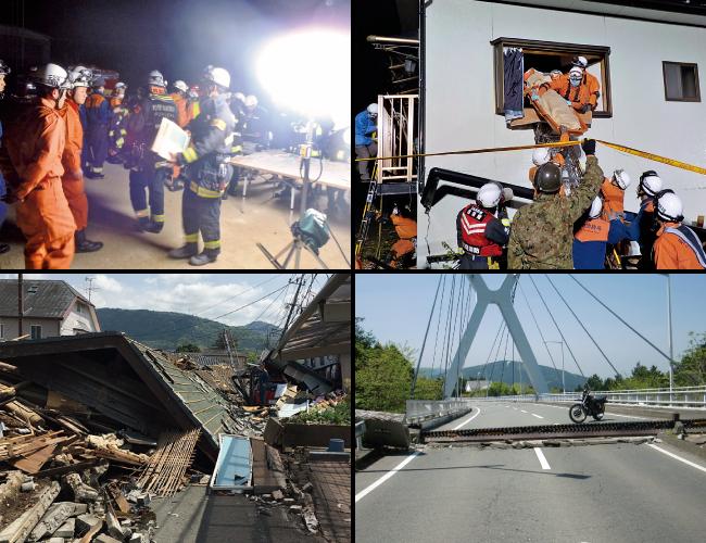 緊急消防援助隊応援部隊の活動