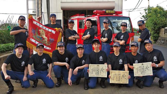 神奈川県高座郡 寒川町第9分団(大蔵消防団)