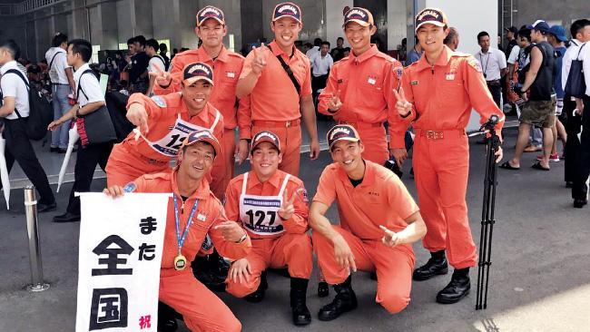 神奈川県横浜市 横浜市消防局 都岡特別救助隊