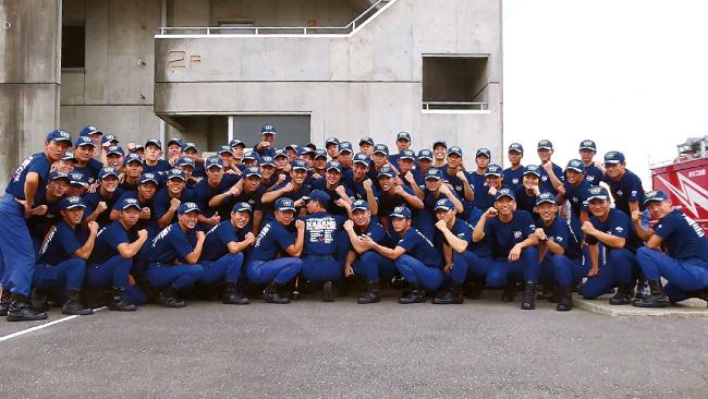 長野県長野市 長野県消防学校 初任科第60期