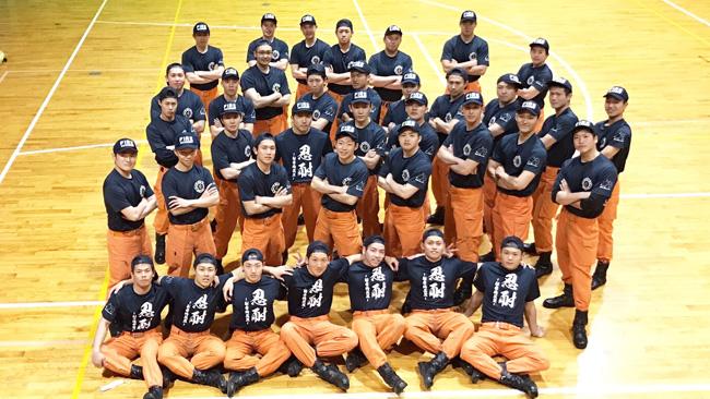 静岡県静岡市 静岡県消防学校 初任科第86 期