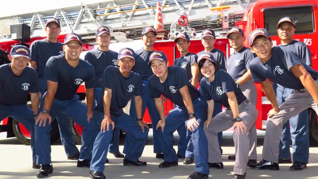 神奈川県横浜市 横浜市消防局 瀬谷消防署