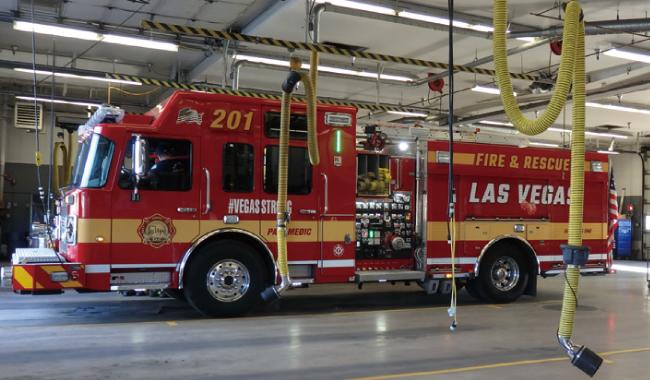 消防車のボディー