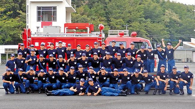 滋賀県東近江市 滋賀県消防学校 初任教育第59期