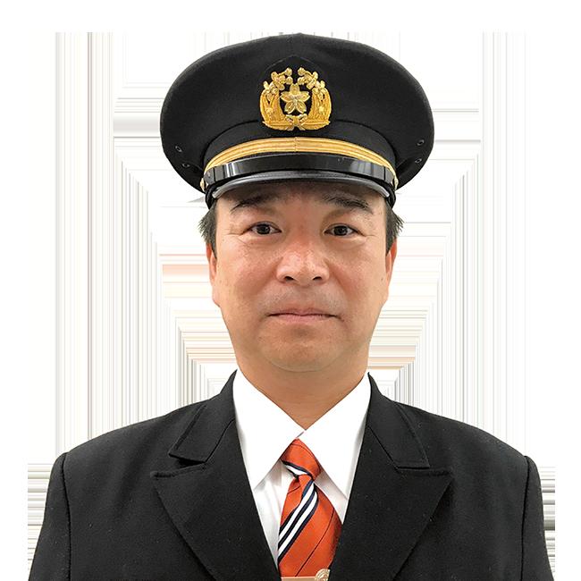 益子町消防団 団長 豊田英雄