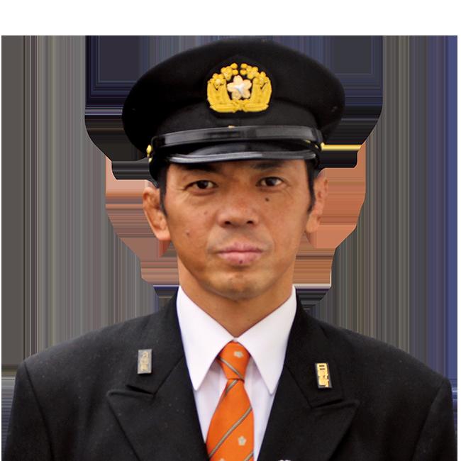 日野町消防団第3分団 分団長 清水雅司