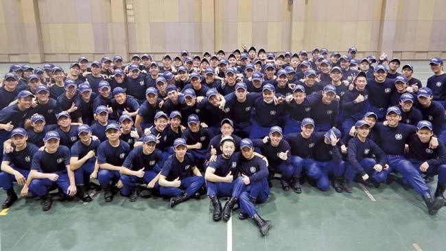 愛知県尾張市 愛知県消防学校 初任科第105期