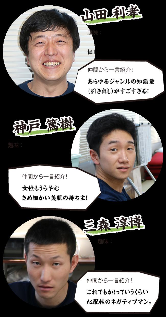 隊員紹介3