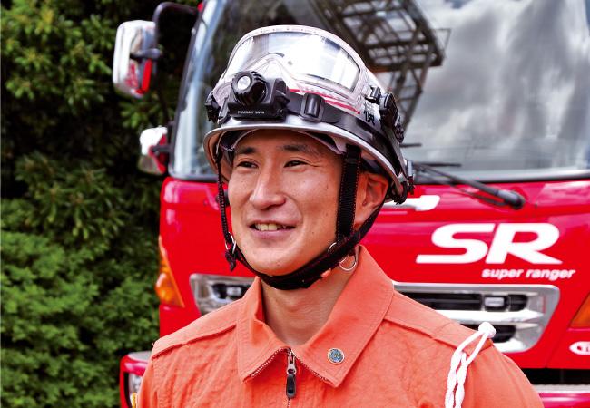 横浜市消防局 特別高度救助部隊 消防士長 木内 賢