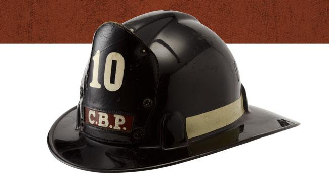 命の絆No.60 パナマ共和国 パナマ市消防 スーパーチーフテン社「セーフT」ヘルメット