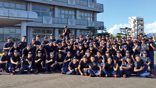 三重県鈴鹿市 三重県消防学校 初任科第54期