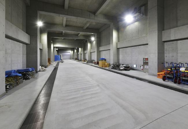 トンネル訓練施設
