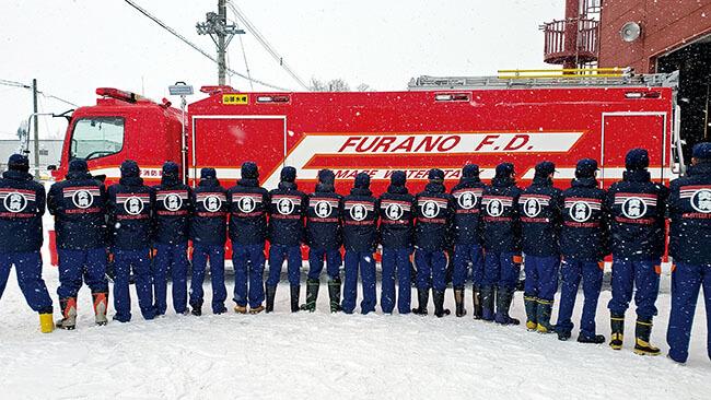 北海道富良野市 富良野消防団第三分団