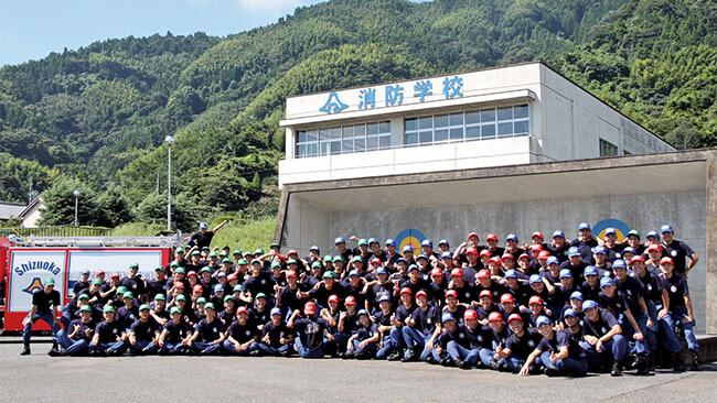 静岡県静岡市 静岡県消防学校 初任科第90期