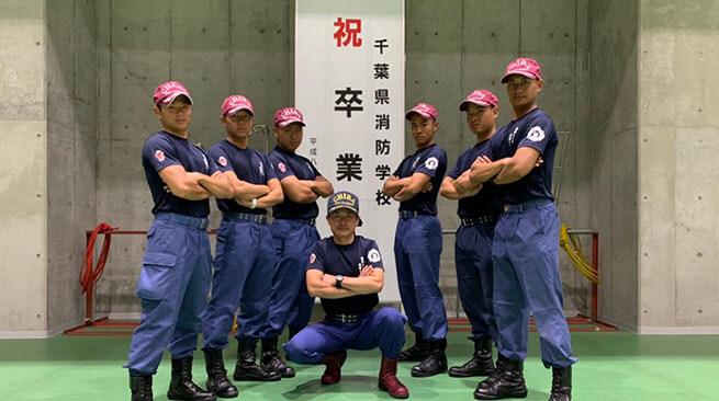 千葉県消防学校 初任科第168 期302号室