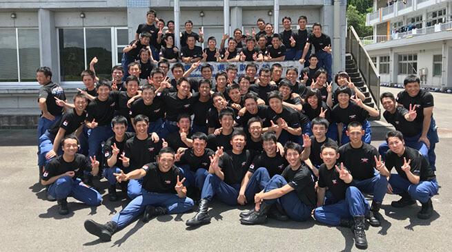 鹿児島県消防学校 初任科第81期