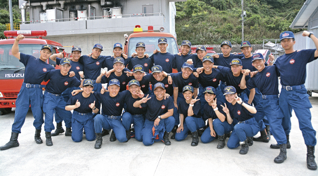 広島県広島市 広島県消防学校 初任科第105期 第3小隊
