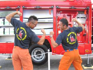 松江市消防局の皆さま
