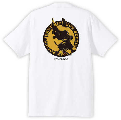 POLICE DOG Tシャツ