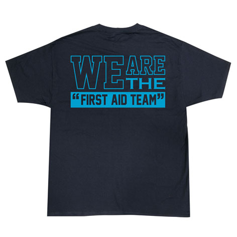 WE ARE THE FIRST AID TEAM Tシャツ