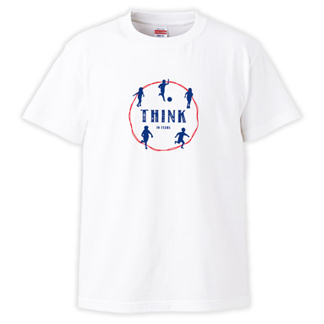 THINK 10YEARS Tシャツ