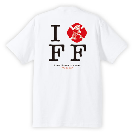 PEE HEE HEE I AM FIREFIGHTER Tシャツ
