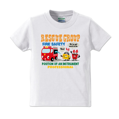 Happy town RESCUE GROUP キッズ T-shirt 【受注生産】