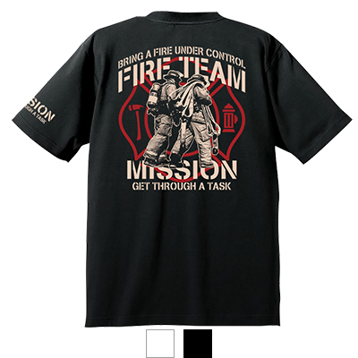 FIRE TEAM T-shirt 【受注生産】